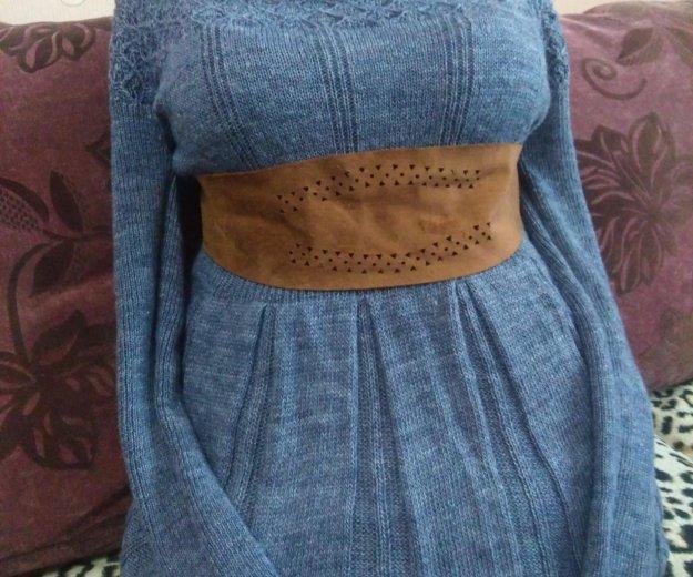 Вязанное платье. Фото 1. Нижневартовск.