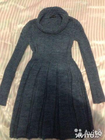 Вязанное платье. Фото 2. Нижневартовск.