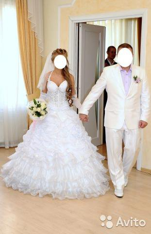 Свадебное платье. Фото 1. Мурманск.