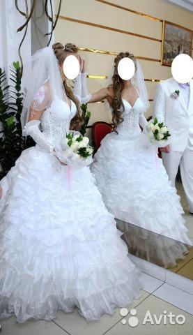 Свадебное платье. Фото 2. Мурманск.