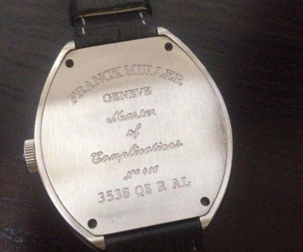 Часы женские franck muller на кожаном ремешке. Фото 1. Пятигорск.