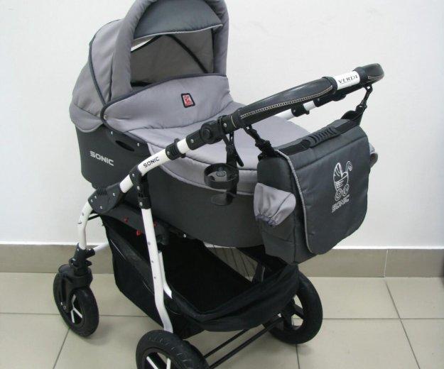 Детская коляска verdi sonic 3в1. Фото 2. Тюмень.