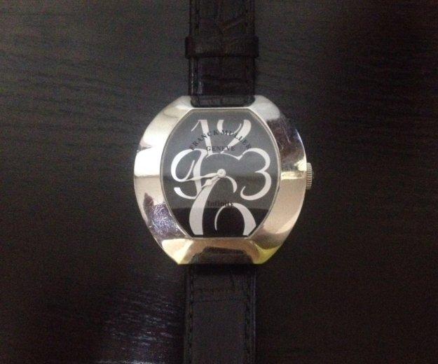 Часы женские franck muller на кожаном ремешке. Фото 3. Пятигорск.