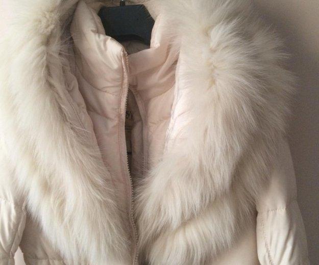 Красивое пальто пуховик! есть скидка!. Фото 2. Коммунарка.