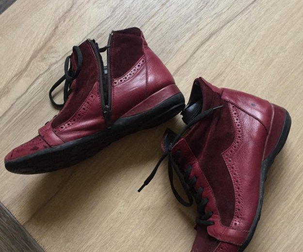 Продам новые ботинки 36 размер кожа. Фото 1. Сочи.