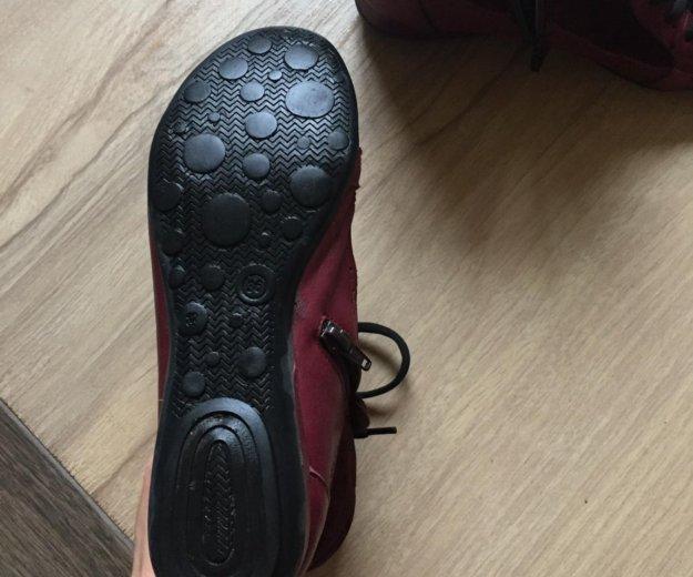 Продам новые ботинки 36 размер кожа. Фото 2. Сочи.