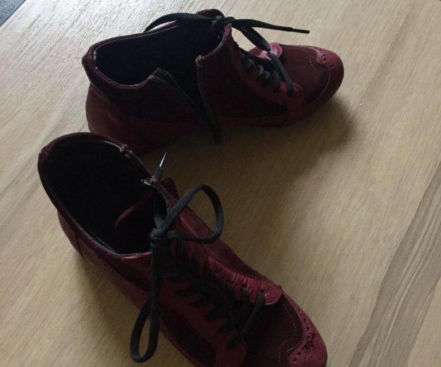 Продам новые ботинки 36 размер кожа. Фото 4. Сочи.