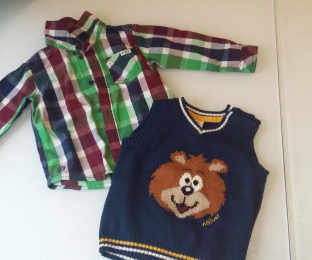 Рубашка и жилетка на мальчика. Фото 1. Мытищи.