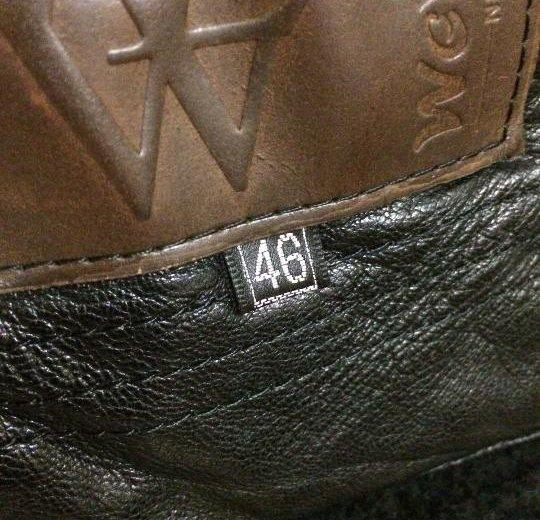 Куртка кожаная зимняя. Фото 1. Москва.
