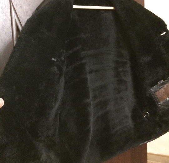Куртка кожаная зимняя. Фото 2. Москва.