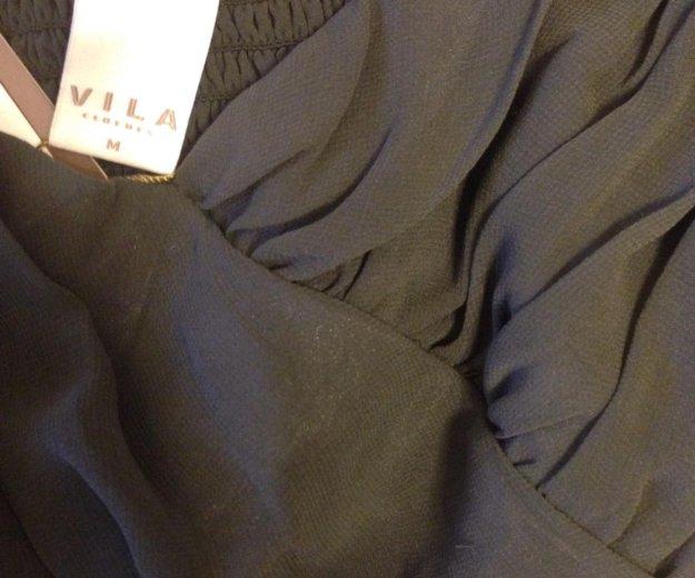 Коктейльное платье vila размер s-m. Фото 4. Железнодорожный.