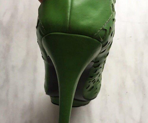 Туфли зеленые. Фото 3. Москва.