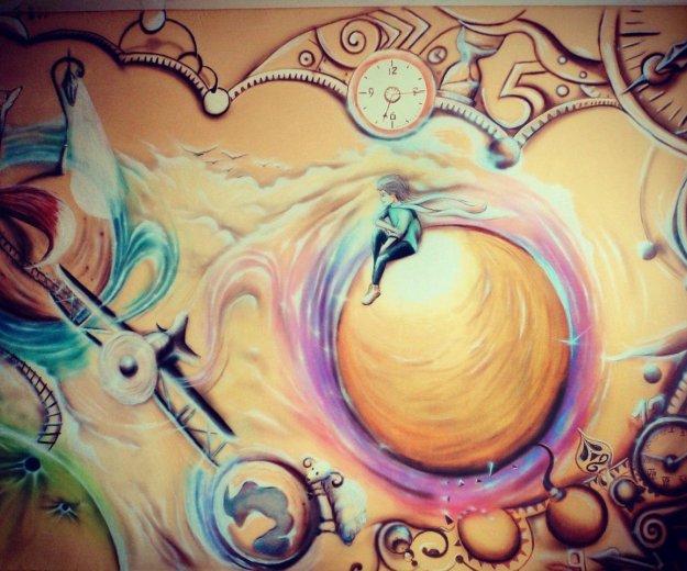 Художественная роспись детской комнаты. Фото 1. Краснодар.