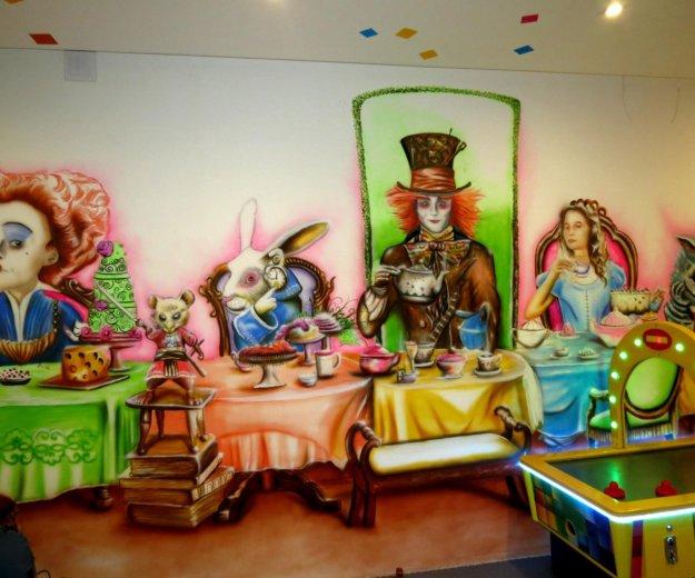 Художественная роспись детской комнаты. Фото 3. Краснодар.