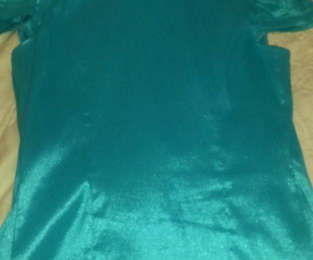 Блузка бирюза 44 разм. Фото 3. Краснодар.