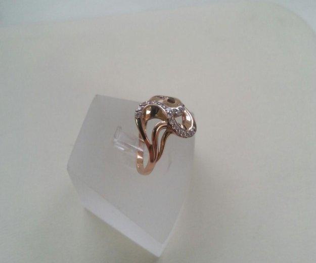Кольцо золото 585°. Фото 1. Новосибирск.