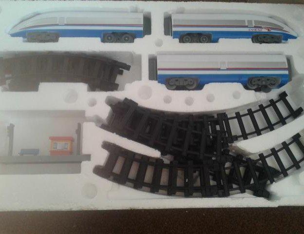 Поезд. Фото 1. Бийск.