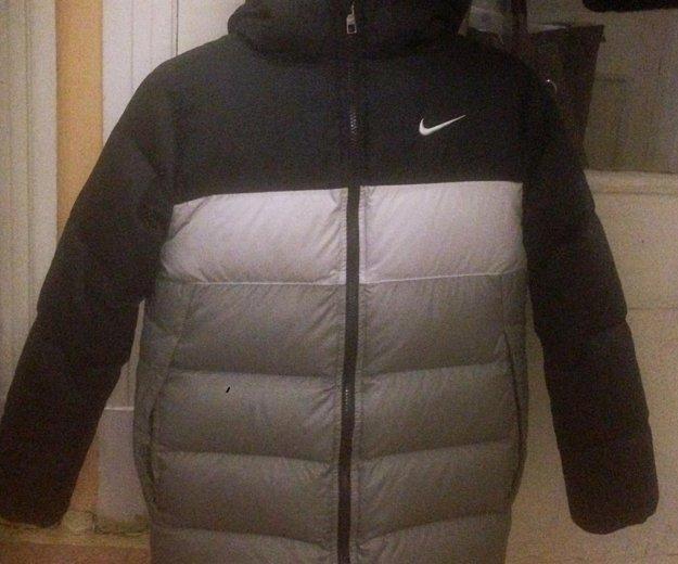 """Пуховая куртка """"nike"""" (в очень хорошем состоянии). Фото 1. Москва."""