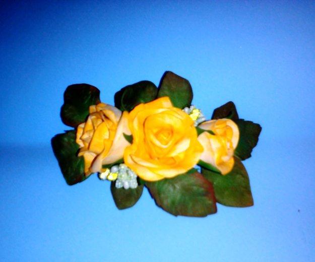 Ручная работа,цветы на заколках, резинках!!!. Фото 1. Кызыл.