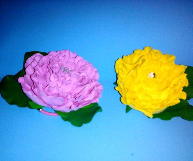 Ручная работа,цветы на заколках, резинках!!!. Фото 3. Кызыл.