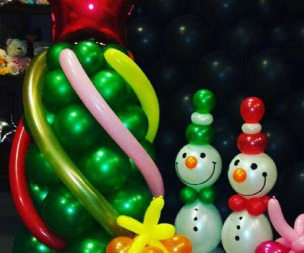 Оформление воздушными шарами. Фото 1. Пятигорск.