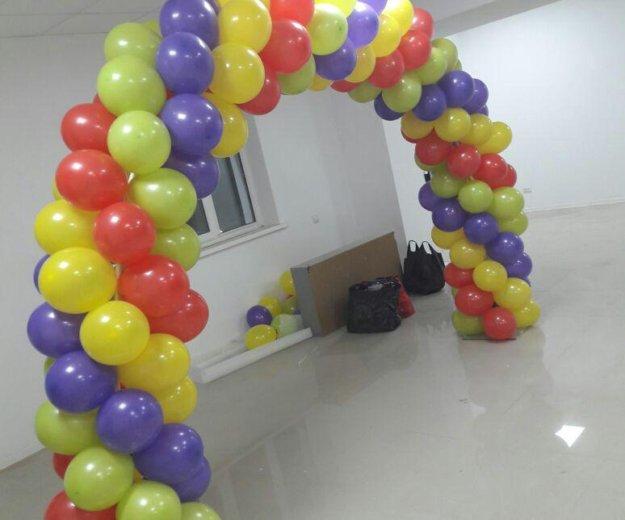 Оформление воздушными шарами. Фото 2. Пятигорск.
