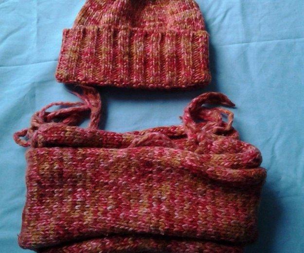 Комплект шапка , шарф. Фото 1. Москва.