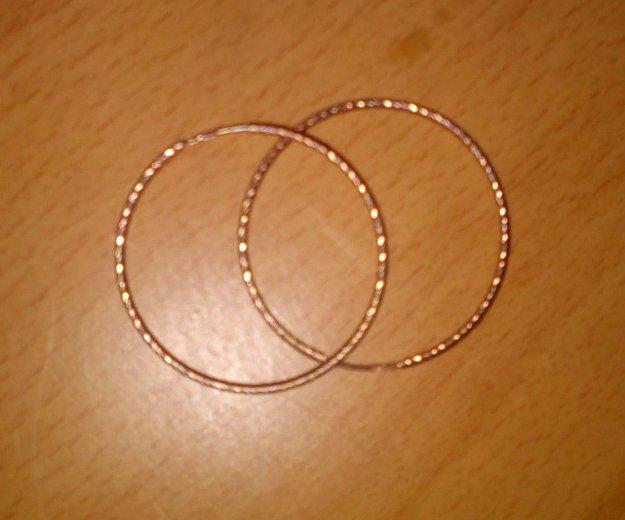 Серьги 925, с золотым напылением. Фото 2. Барнаул.