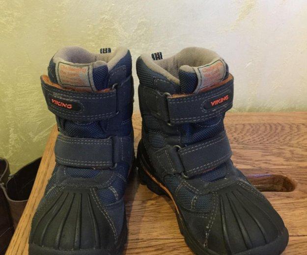 Зимние ботинки viking ( обмен). Фото 2. Москва.