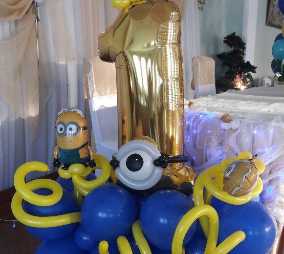Оформление воздушными шарами. Фото 4. Пятигорск.