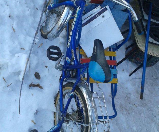 Велосипед на 4-7лет. Фото 2. Новокуйбышевск.
