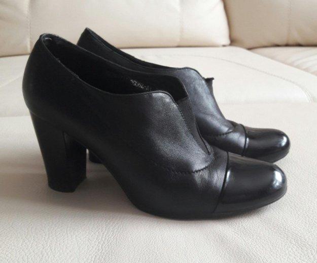 Туфли нат.кожа 36-37. Фото 1. Ижевск.