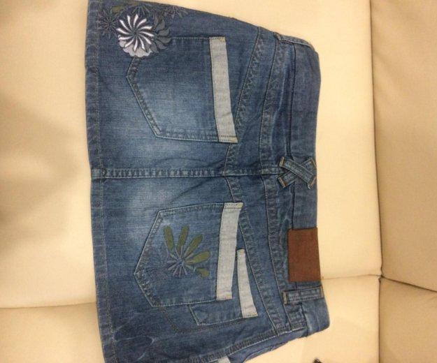 Продаю две джинсовые юбки. Фото 2. Выселки.