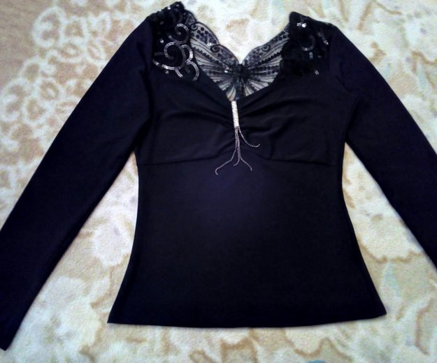 Блузка стрейч для девушки. Фото 1. Таганрог.