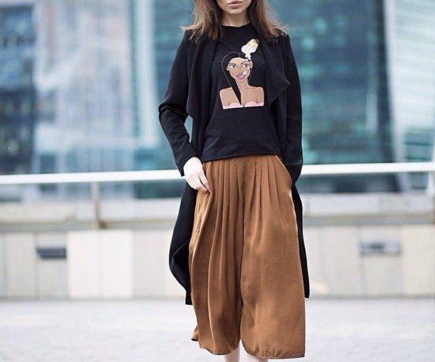 Широкие брюки кюлоты. Фото 1. Москва.
