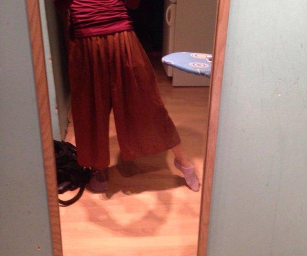 Широкие брюки кюлоты. Фото 2. Москва.