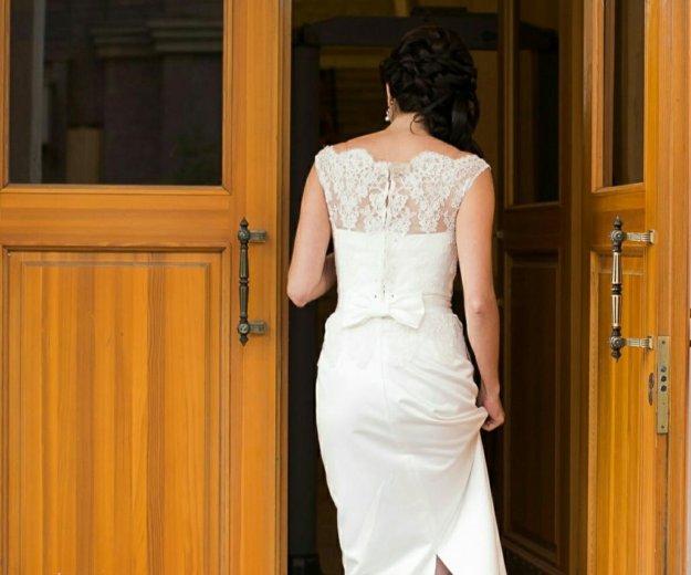 Свадебное платье 42-44. Фото 4. Рязань.