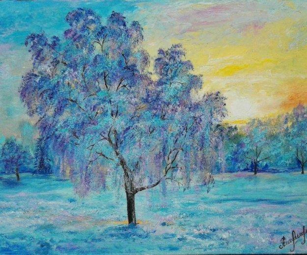 Картина. мороз. Фото 1. Наро-Фоминск.