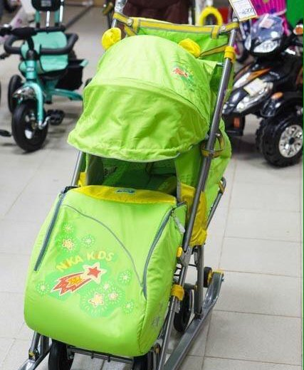 Санки-коляска. Фото 1. Белгород.