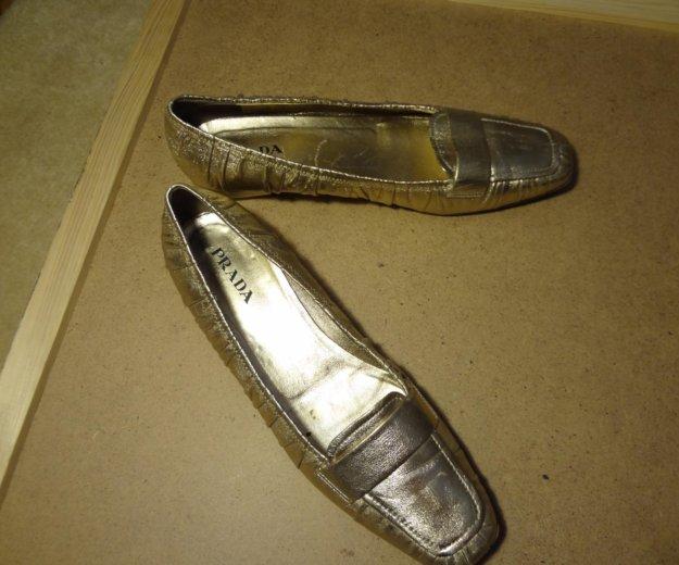 Шикарные туфли фирмы prada. Фото 2. Москва.