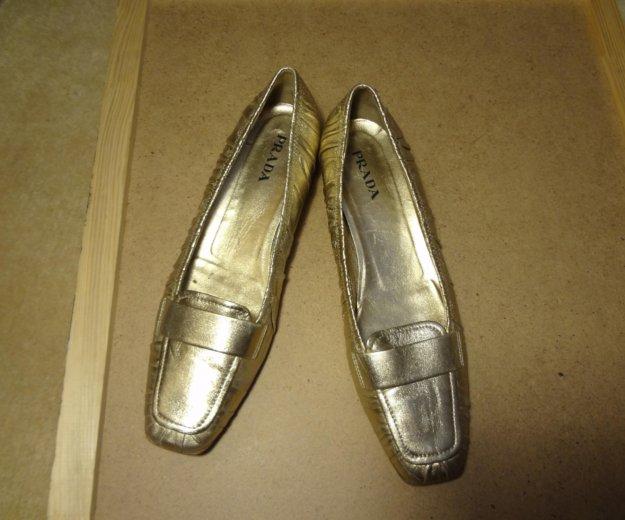 Шикарные туфли фирмы prada. Фото 3. Москва.