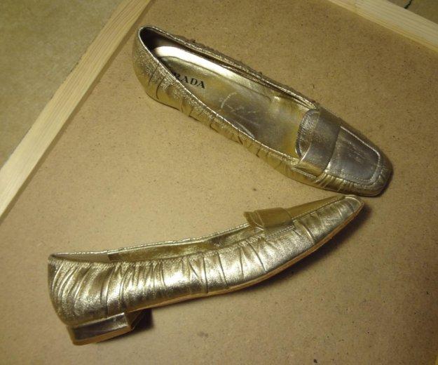 Шикарные туфли фирмы prada. Фото 4. Москва.