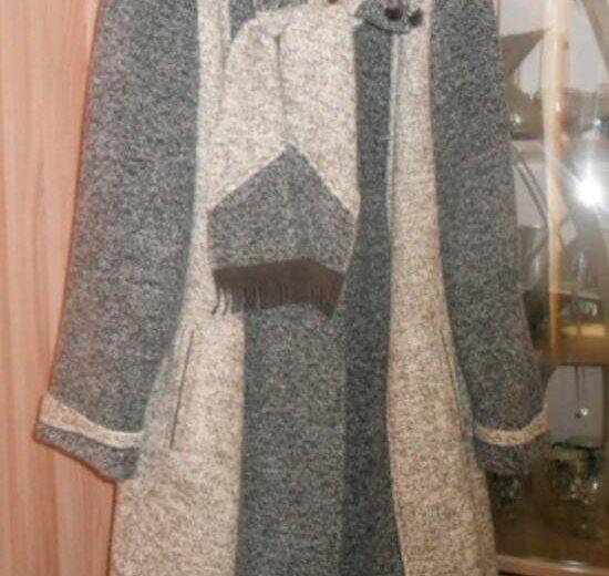 Зимнее пальто р.56-58. Фото 1. Подольск.