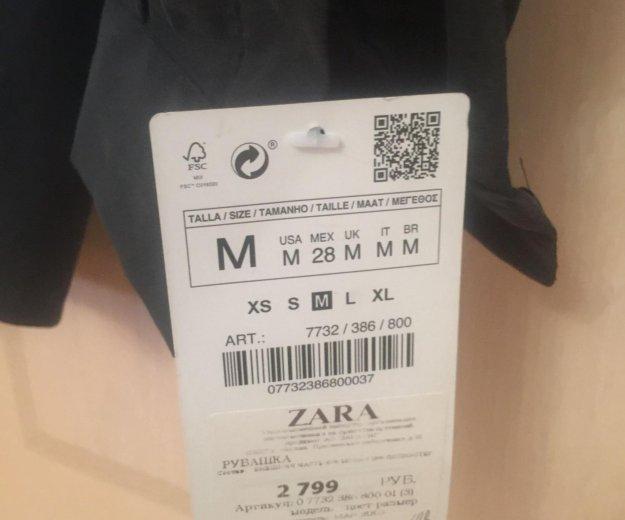 Рубашка zara. Фото 4. Самара.