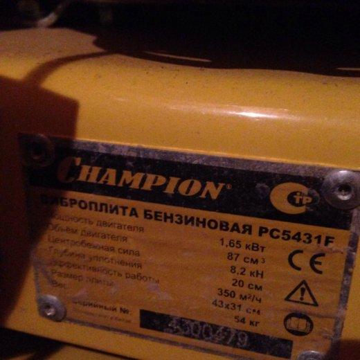 """Виброплита """"champion"""". Фото 2. Архангельск."""