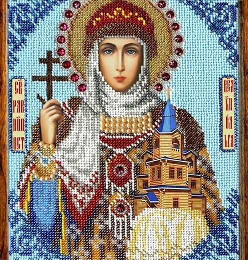 Икона святой ольги. Фото 1. Нижневартовск.