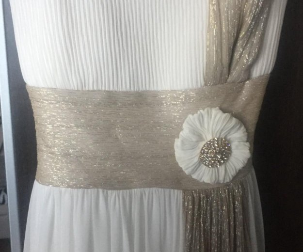 Свадебное вечернее платье. Фото 1. Ермолино.
