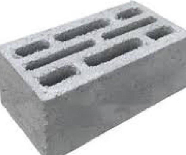 Блок керамзитобетонный. Фото 1. Разумное.