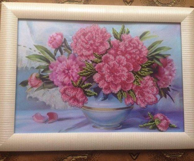 Розовые пионы в вазе.. Фото 1. Ростов-на-Дону.