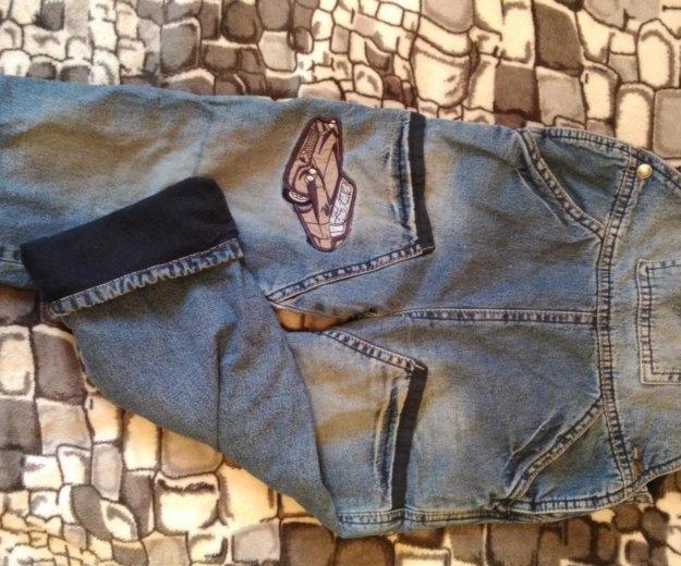 Комбинезон джинсовый. Фото 1. Астрахань.